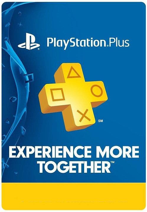 Playstation Plus: 6 Month Membership PS5