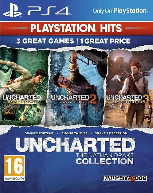UNCHARTED +  BEYOND: Two Souls + Heavy Rain PS5