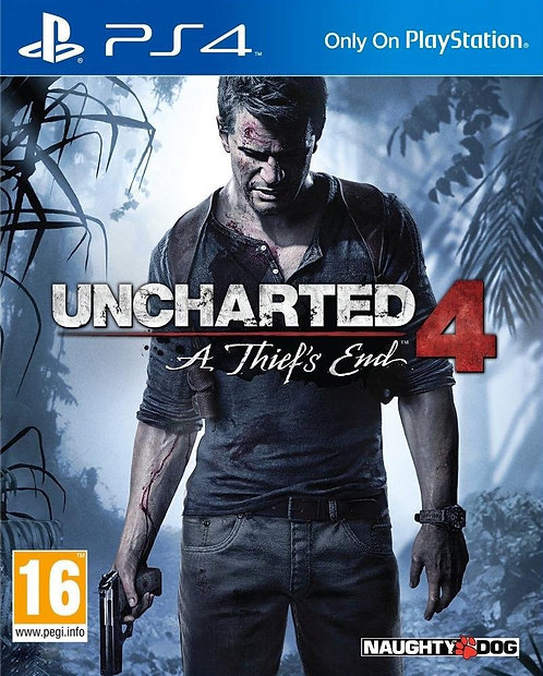 Uncharted 4: A Thief's End PS5