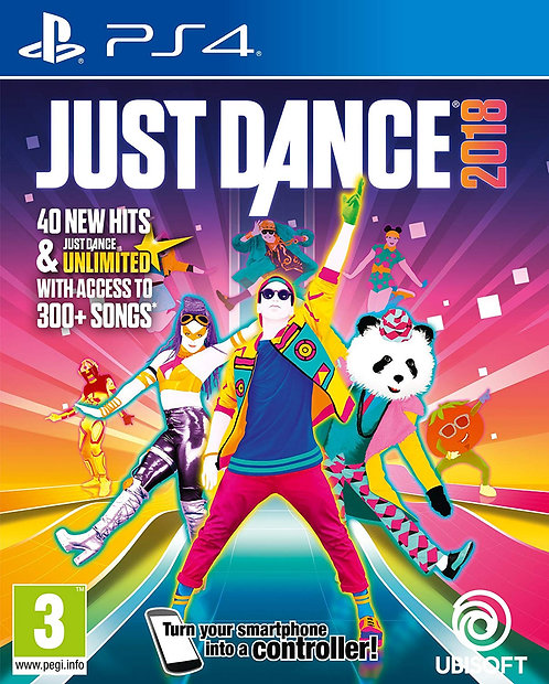 Just Dance 2018 PS5