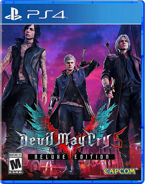 Devil May Cry 5 Deluxe Edition PS5