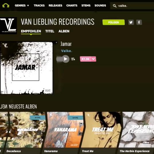 V A L K E . - JAMAR - Van Liebling Rec.