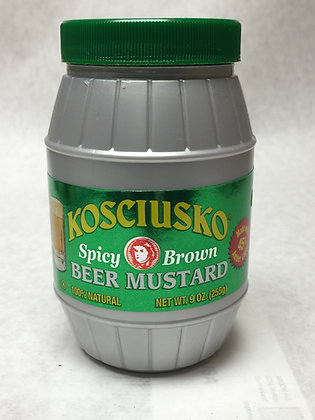 Kosciusko - Spicy Brown Beer Mustard