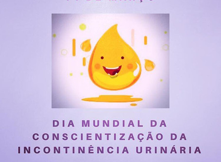 14 de Março Dia Mundial da Conscientização da Incontinência Urinária