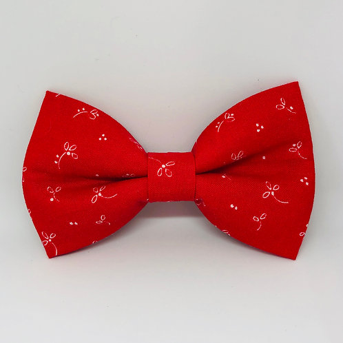 Racey Red Bow Tie