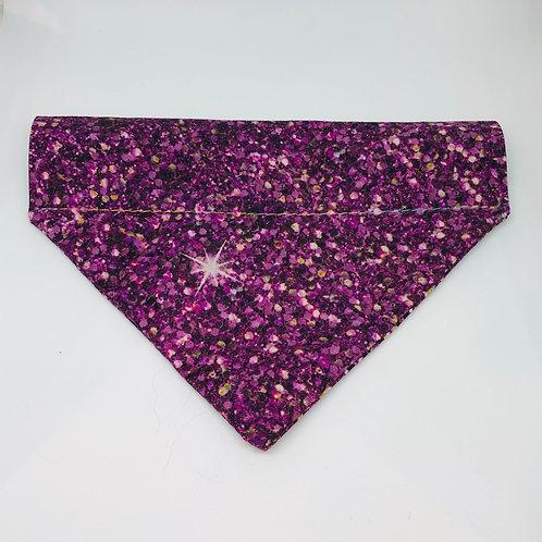 Purple Glitter Bandana