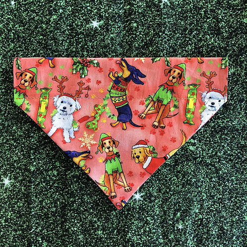 Christmas Dogs Bandana