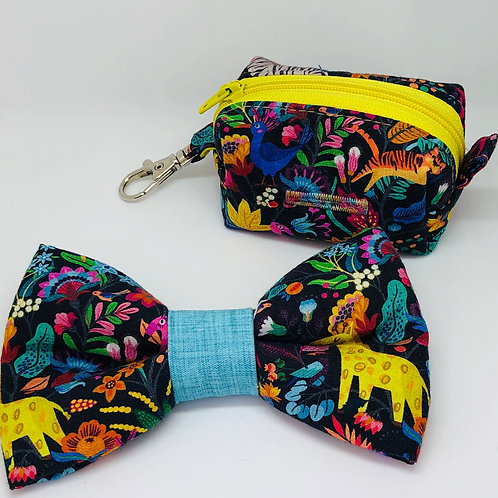 Jungle Party Bow Tie