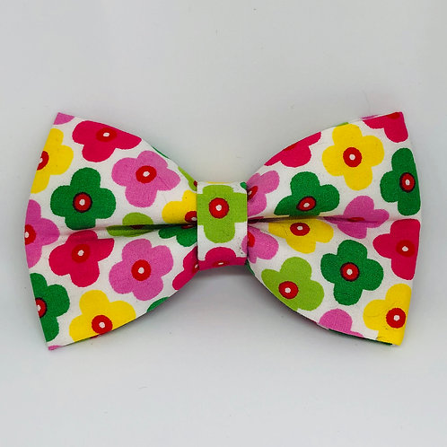 Bright Flowers Bow Tie