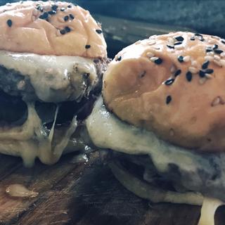 Burger trio, The Brixton