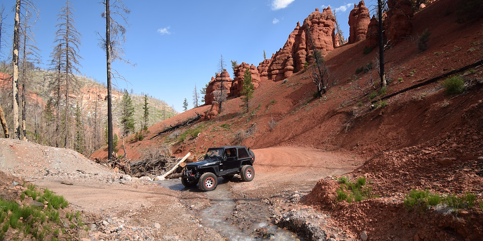 Dixie NF Overland Weekend