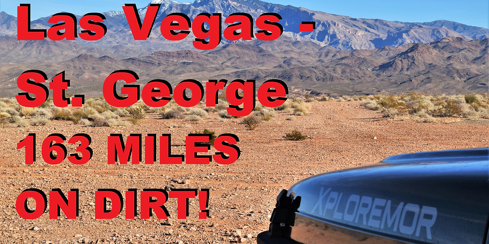 Las Vegas to St. George Group Overland Event