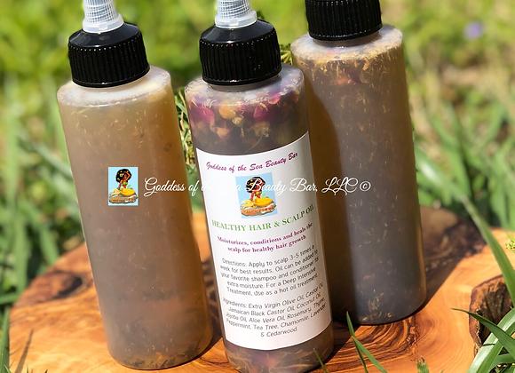 Healthy Hair & Scalp Oil (4oz)