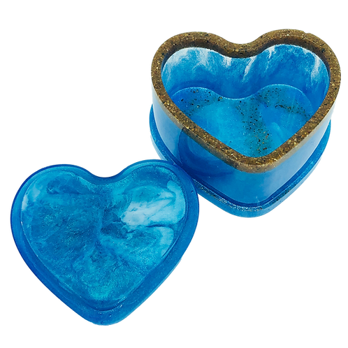 Heart Of The Ocean 2 Piece Trinket Box