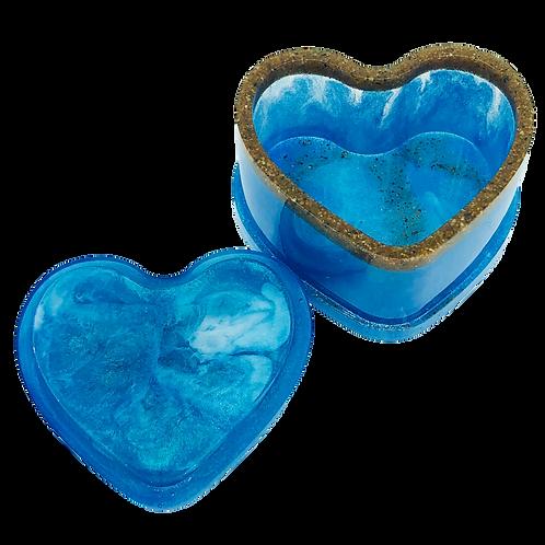Heart Of The Ocean 2 Piece Trinket Box
