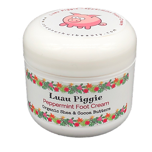 Luau Piggie Peppermint Foot Cream