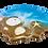 Thumbnail: Ocean Beach Wine Butler & 2 Coasters