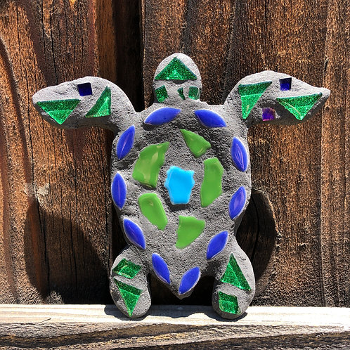 """Mosaic Honu Baby Sea Turtle - Small 5"""" Inches"""