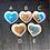 Thumbnail: Heart of the Ocean Porcelain Trinket Ring Dish