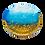 Thumbnail: Glitter Beach Trinket Dish