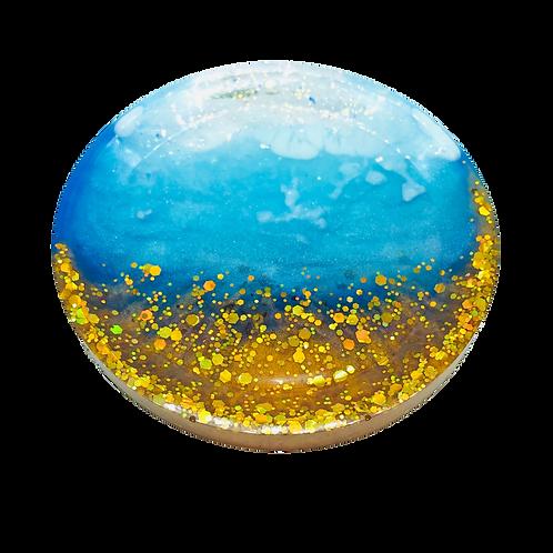 Glitter Beach Trinket Dish