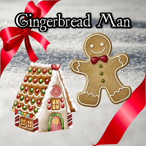 Gingerbread Man ~ Holiday Limited Edition