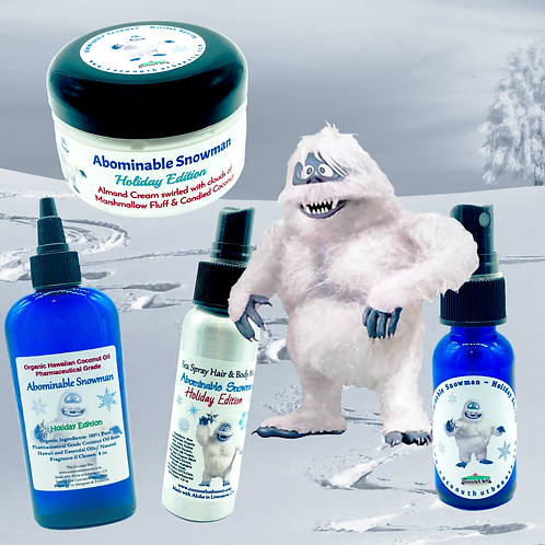 Abominable Snowman ~ Holiday Limited Edition