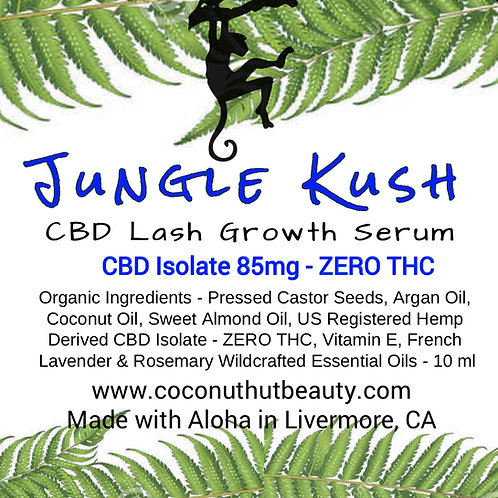 Jungle Kush CBD Lash Serum