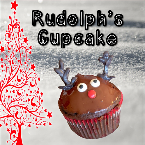 Rudolph's Cupcake ~ Holiday Limited Edition