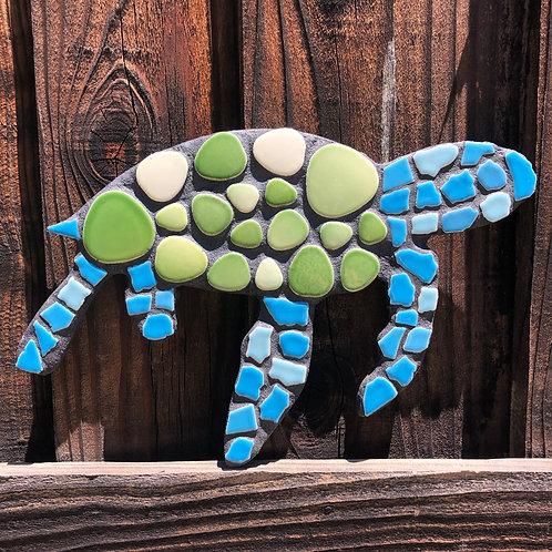 """Mosaic Honu Sea Turtle Large 12"""" Inches"""