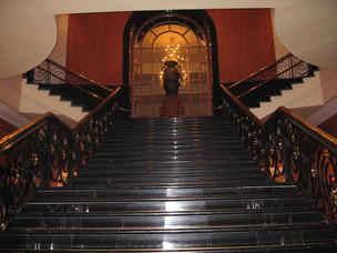 Grand staircase Four Seasons Hotel