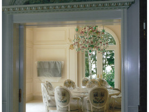 J P Weaver moldings, luxury home