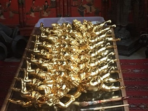 Church gold gilding