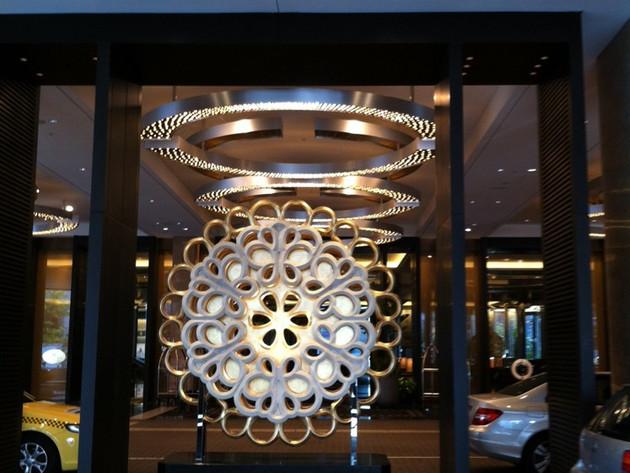 Bates Smart sculpture Crown Melbourne