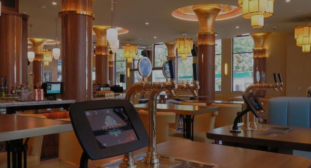 Restaurant and Bar gilding