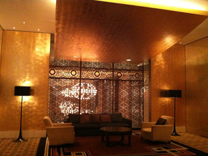 Palladium Room Lounge lobby