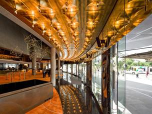Hamer Hall Entry ceiling
