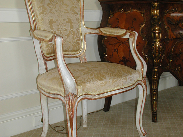 Reproduction 'Louis'  chair