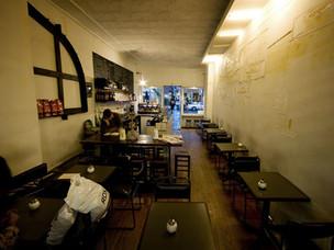 Collins st. Cafe interior