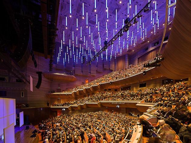 Concert hall interior