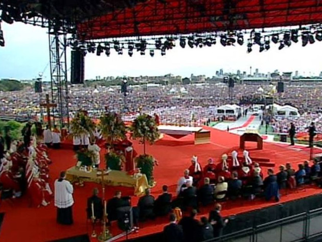 Papal visit World Youth Day; Sydney