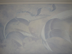 Wall mural, Feature wall