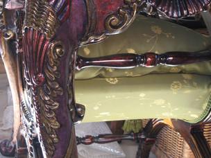 Boutique console table