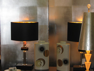 Screen and lampshades