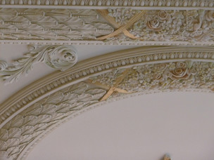Deluxe Home ceiling detail