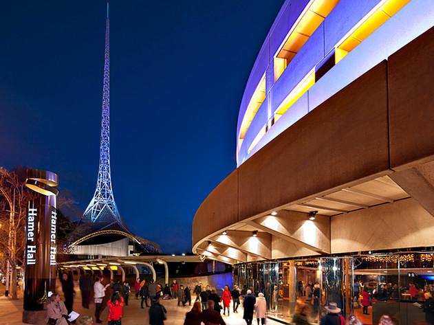 Hamer Hall Melbourne Arts District