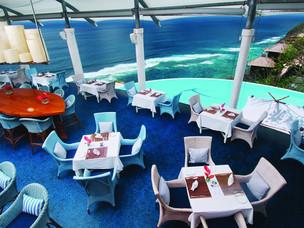 DiMare Restaurant colour pallette