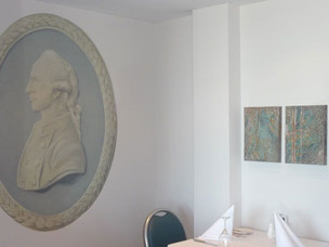 Captain Cook cameo mural