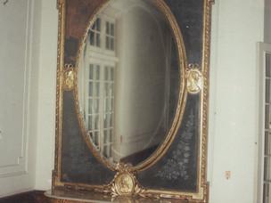 Antique mirror restoration
