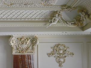Luxury home, luxury interior